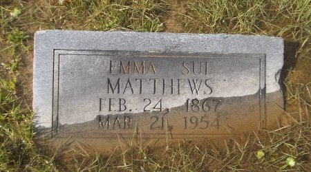 MATTHEWS, EMMA SUE - Franklin County, Louisiana | EMMA SUE MATTHEWS - Louisiana Gravestone Photos