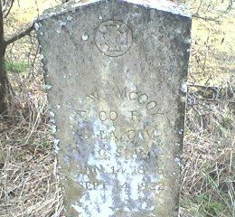 MCCOY, A W  (VETERAN CSA) - Franklin County, Louisiana | A W  (VETERAN CSA) MCCOY - Louisiana Gravestone Photos