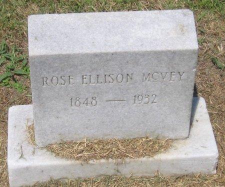 ELLISON MCVEY, ROSE - Franklin County, Louisiana   ROSE ELLISON MCVEY - Louisiana Gravestone Photos