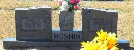 MONNIN, WILLIAM C - Franklin County, Louisiana | WILLIAM C MONNIN - Louisiana Gravestone Photos