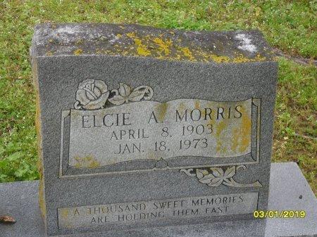 MORRIS, ELCIE A (CLOSE UP) - Franklin County, Louisiana   ELCIE A (CLOSE UP) MORRIS - Louisiana Gravestone Photos