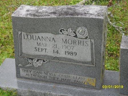 MORRIS, LOUANNA (CLOSE UP) - Franklin County, Louisiana   LOUANNA (CLOSE UP) MORRIS - Louisiana Gravestone Photos