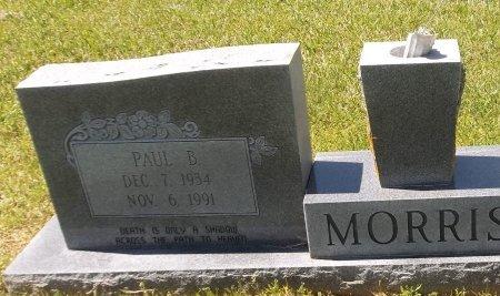 MORRIS, PAUL B (CLOSE UP) - Franklin County, Louisiana | PAUL B (CLOSE UP) MORRIS - Louisiana Gravestone Photos