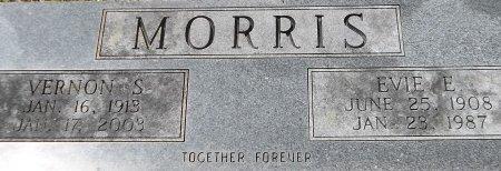 MORRIS, EVIE E (CLOSE UP) - Franklin County, Louisiana | EVIE E (CLOSE UP) MORRIS - Louisiana Gravestone Photos