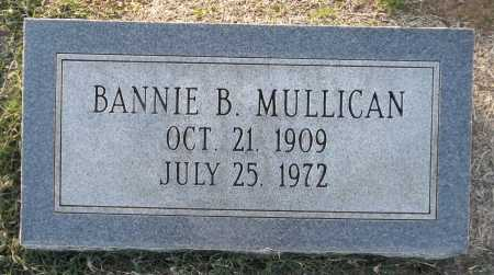 MULLICAN, BANNIE B - Franklin County, Louisiana | BANNIE B MULLICAN - Louisiana Gravestone Photos