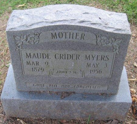 MYERS, MAUDE - Franklin County, Louisiana | MAUDE MYERS - Louisiana Gravestone Photos