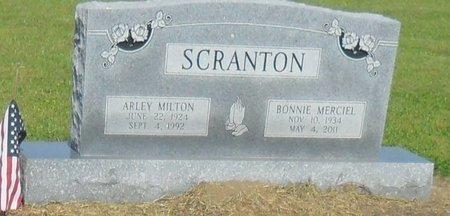 SCRANTON, BONNIE - Franklin County, Louisiana | BONNIE SCRANTON - Louisiana Gravestone Photos