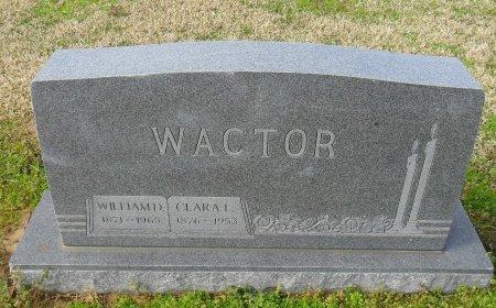 WACTOR, CLARA L - Franklin County, Louisiana | CLARA L WACTOR - Louisiana Gravestone Photos