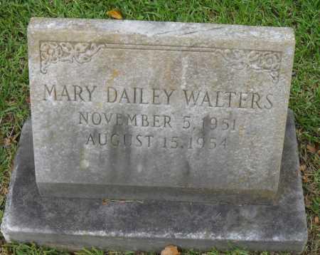WALTERS, MARY DAILEY - Franklin County, Louisiana | MARY DAILEY WALTERS - Louisiana Gravestone Photos