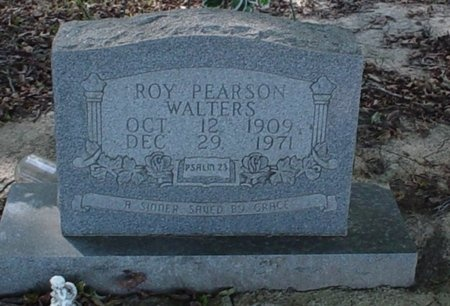 WALTERS, ROY PEARSON - Franklin County, Louisiana | ROY PEARSON WALTERS - Louisiana Gravestone Photos