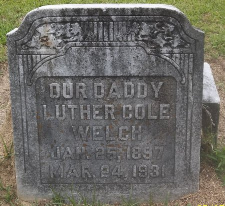 WELCH, LUTHER COLE - Franklin County, Louisiana | LUTHER COLE WELCH - Louisiana Gravestone Photos