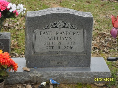 WILLIAMS, FAYE (CLOSE UP) - Franklin County, Louisiana | FAYE (CLOSE UP) WILLIAMS - Louisiana Gravestone Photos
