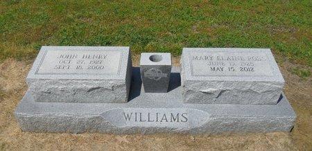 WILLIAMS, JOHN HENRY - Franklin County, Louisiana | JOHN HENRY WILLIAMS - Louisiana Gravestone Photos