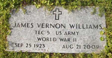 WILLIAMS  , JAMES VERNON (VETERAN WWII) - Franklin County, Louisiana | JAMES VERNON (VETERAN WWII) WILLIAMS   - Louisiana Gravestone Photos