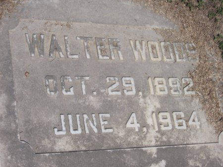 WOODS, WALTER (CLOSE UP) - Franklin County, Louisiana   WALTER (CLOSE UP) WOODS - Louisiana Gravestone Photos