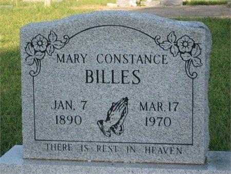 BILLES, MARY CONSTANCE - Grant County, Louisiana | MARY CONSTANCE BILLES - Louisiana Gravestone Photos