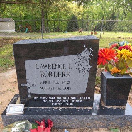 BORDERS, LAWRENCE L - Grant County, Louisiana | LAWRENCE L BORDERS - Louisiana Gravestone Photos