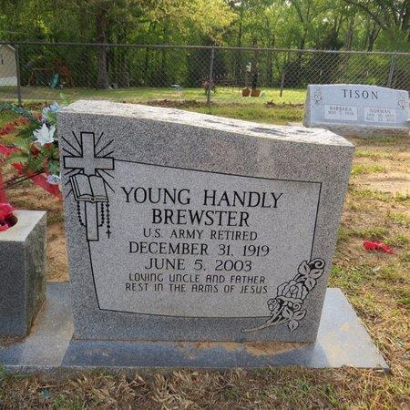 BREWSTER, YOUNG HANDLEY  (VETERAN) - Grant County, Louisiana   YOUNG HANDLEY  (VETERAN) BREWSTER - Louisiana Gravestone Photos