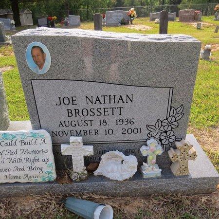 BROSSETT, JOE NATHAN (CLOSE UP) - Grant County, Louisiana | JOE NATHAN (CLOSE UP) BROSSETT - Louisiana Gravestone Photos
