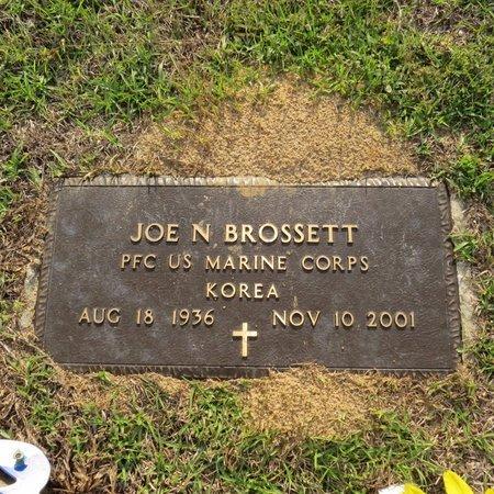 BROSSETT, JOE NATHAN SR (VETERAN KOR) - Grant County, Louisiana | JOE NATHAN SR (VETERAN KOR) BROSSETT - Louisiana Gravestone Photos