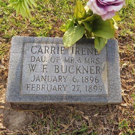 BUCKNER, CARRIE IRENE - Grant County, Louisiana | CARRIE IRENE BUCKNER - Louisiana Gravestone Photos