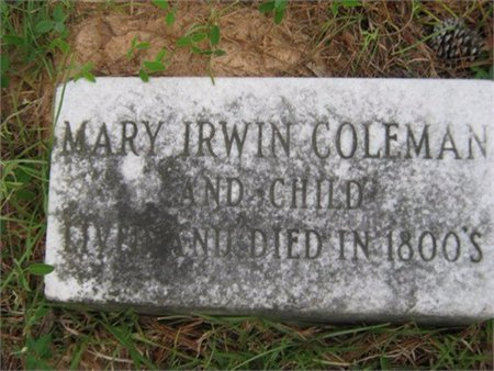 COLEMAN, CHILD - Grant County, Louisiana | CHILD COLEMAN - Louisiana Gravestone Photos