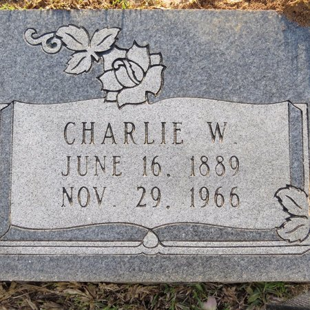 CROOM, CHARLIE W (CLOSE UP) - Grant County, Louisiana | CHARLIE W (CLOSE UP) CROOM - Louisiana Gravestone Photos