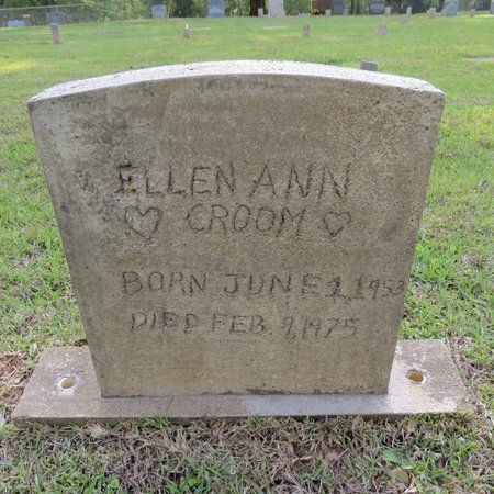 CROOM, ELLEN ANN - Grant County, Louisiana | ELLEN ANN CROOM - Louisiana Gravestone Photos