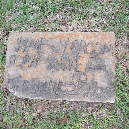 CROOM, JAMES H - Grant County, Louisiana | JAMES H CROOM - Louisiana Gravestone Photos