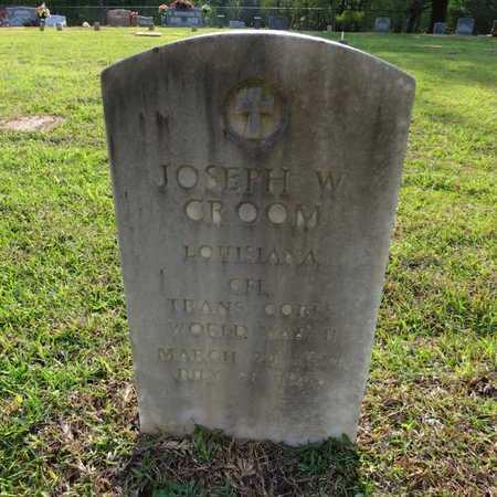 CROOM, JOSEPH WOODROW (VETERAN WWII) - Grant County, Louisiana | JOSEPH WOODROW (VETERAN WWII) CROOM - Louisiana Gravestone Photos