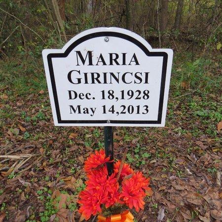 GIRINCSI, MARIA - Grant County, Louisiana   MARIA GIRINCSI - Louisiana Gravestone Photos