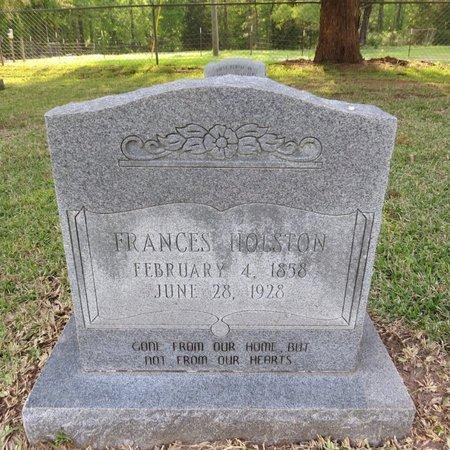 HOLSTON, FRANCES - Grant County, Louisiana | FRANCES HOLSTON - Louisiana Gravestone Photos