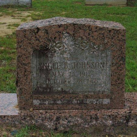 JOHNSON, ANGEL B - Grant County, Louisiana | ANGEL B JOHNSON - Louisiana Gravestone Photos