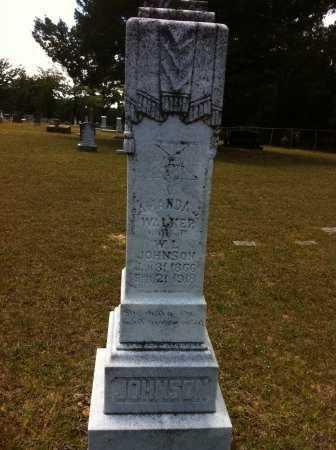 WALKER JOHNSON, AMANDA JOSEPHINE - Grant County, Louisiana | AMANDA JOSEPHINE WALKER JOHNSON - Louisiana Gravestone Photos