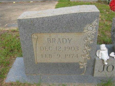 JOHNSON, BRADY (CLOSE UP) - Grant County, Louisiana | BRADY (CLOSE UP) JOHNSON - Louisiana Gravestone Photos
