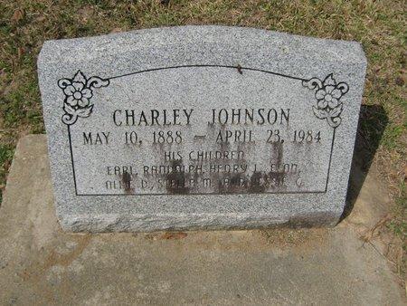 JOHNSON, CHARLEY - Grant County, Louisiana | CHARLEY JOHNSON - Louisiana Gravestone Photos