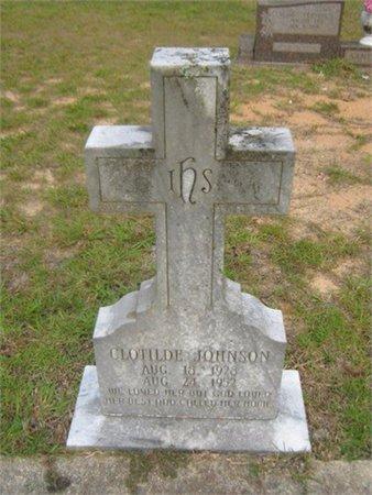 JOHNSON, CLOTILDE - Grant County, Louisiana | CLOTILDE JOHNSON - Louisiana Gravestone Photos