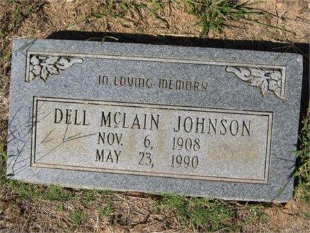 JOHNSON, DELL - Grant County, Louisiana   DELL JOHNSON - Louisiana Gravestone Photos
