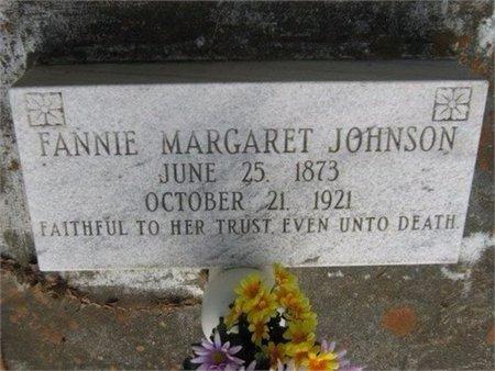 JOHNSON, FANNIE MARGARET - Grant County, Louisiana | FANNIE MARGARET JOHNSON - Louisiana Gravestone Photos