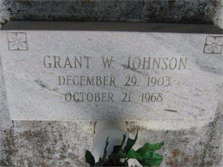 JOHNSON, GRANT W - Grant County, Louisiana | GRANT W JOHNSON - Louisiana Gravestone Photos