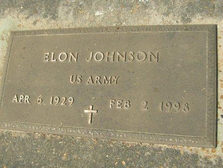 JOHNSON, ELON (VETERAN) - Grant County, Louisiana | ELON (VETERAN) JOHNSON - Louisiana Gravestone Photos