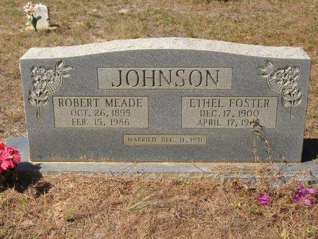 JOHNSON, ROBERT MEAD - Grant County, Louisiana | ROBERT MEAD JOHNSON - Louisiana Gravestone Photos