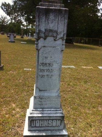 JOHNSON, WILLIAM LOVETT - Grant County, Louisiana | WILLIAM LOVETT JOHNSON - Louisiana Gravestone Photos
