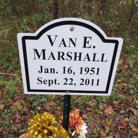 MARSHALL, VAN E - Grant County, Louisiana | VAN E MARSHALL - Louisiana Gravestone Photos