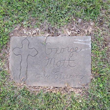 MOTT, GEORGE - Grant County, Louisiana | GEORGE MOTT - Louisiana Gravestone Photos