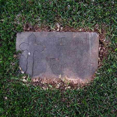MOTT, INFANT #1 - Grant County, Louisiana   INFANT #1 MOTT - Louisiana Gravestone Photos