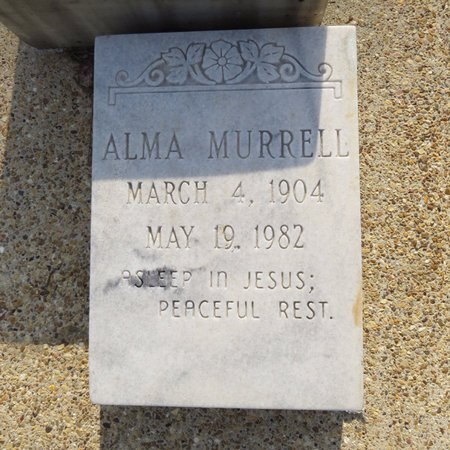 MADDOX MURRELL, ALMA - Grant County, Louisiana | ALMA MADDOX MURRELL - Louisiana Gravestone Photos