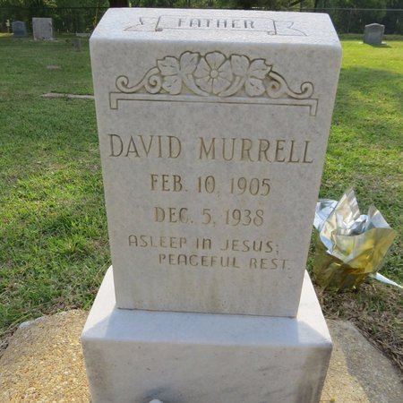 MURRELL, DAVID - Grant County, Louisiana | DAVID MURRELL - Louisiana Gravestone Photos