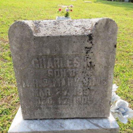 SIMS, CHARLES R - Grant County, Louisiana   CHARLES R SIMS - Louisiana Gravestone Photos