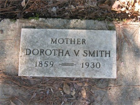 SMITH, DOROTHA VIRGINIA - Grant County, Louisiana | DOROTHA VIRGINIA SMITH - Louisiana Gravestone Photos